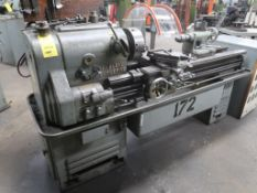 Leblond 15 in. x 42 in. Geared Head Engine Lathe, S/N HC519, Dual Drive (#172), LOCATION: TOOL ROOM