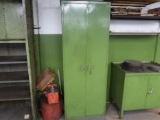 LOT: DoAll Supply Cabinet, with Contents, LOCATION: TOOL ROOM