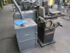 LOT: Clausing 6 in. x 12 in. Surface Grinder Model 4002, S/N 7B-8191, 6 in. x 12 in. Electromagnetic