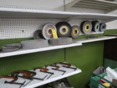 LOT: Assorted Grinding Wheels, LOCATION: TOOL ROOM
