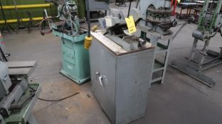 LOT: Richards Multiform Bench Saw Model CS, with Cabinet, LOCATION: TOOL ROOM
