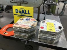 LOT: (20) Pieces Assorted Band Saw Stock, LOCATION: TOOL ROOM
