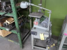 Milwaukee Die Filer, with Stand, LOCATION: TOOL ROOM