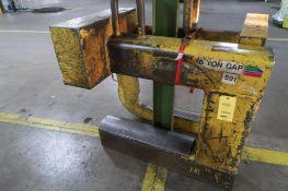 10 Ton C-Hook, LOCATION: MAIN PRESS FLOOR