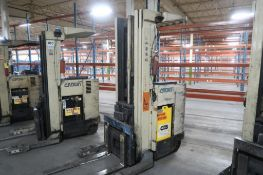 Crown 3500 lb. Stand-up Reach Electric Forklift Model 35RRTT, S/N W-25071, 25,873 hours, LOCATION: