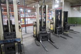 Crown 3500 lb. Stand-up Reach Electric Forklift Model 35RRTT, S/N W-37307, 39,357 hours, LOCATION: