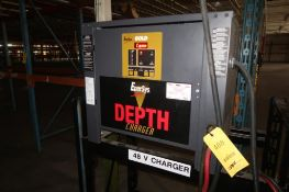 Enersys 48 Volt Battery Charger Model D3G-24-850, S/N FH16681, includes Stand, LOCATION: MAIN