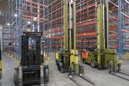 Clark 2000 lb. Electric Forklift Model FC500-40-TL, S/N E685-7-475-0FA, Tri-Loader Side Loading