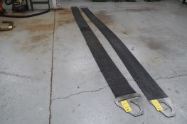 28,800 lb. Mesh Sling, 12 in. Wide, 18 ft. Long, LOCATION: MAIN PRESS FLOOR