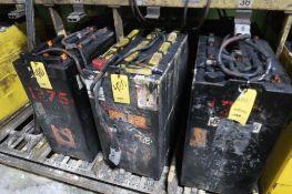 LOT: (3) Steel Case Batteries, LOCATION: MAIN PRESS FLOOR