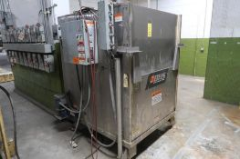 B.H.S. Battery Wash Cabinet Model BWC-2, S/N 6-2006, Stainless Steel Construction, LOCATION: MAIN