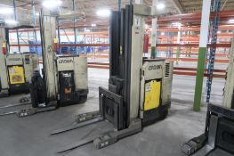 Crown 4500 lb. Stand-up Reach Electric Forklift Model 45RRTT, S/N 1A122139, 9084 hours, LOCATION: