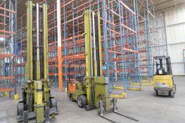 Clark 2000 lb. Electric Forklift Model FC500-40-TL, S/N E685-10-475-0FA, Tri-Loader Side Loading