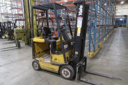 Yale 2900 lb. Electric Forklift Model ERC030AHN36TE088, S/N C814N02746G, 3-Stage Mast, Side Shift (