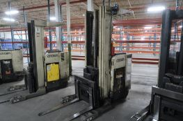 Crown 3500 lb. Stand-up Reach Electric Forklift Model 35RRTT, S/N W-23889, 34,780 hours, LOCATION: