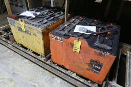 LOT: (2) Steel Case Batteries, LOCATION: MAIN PRESS FLOOR