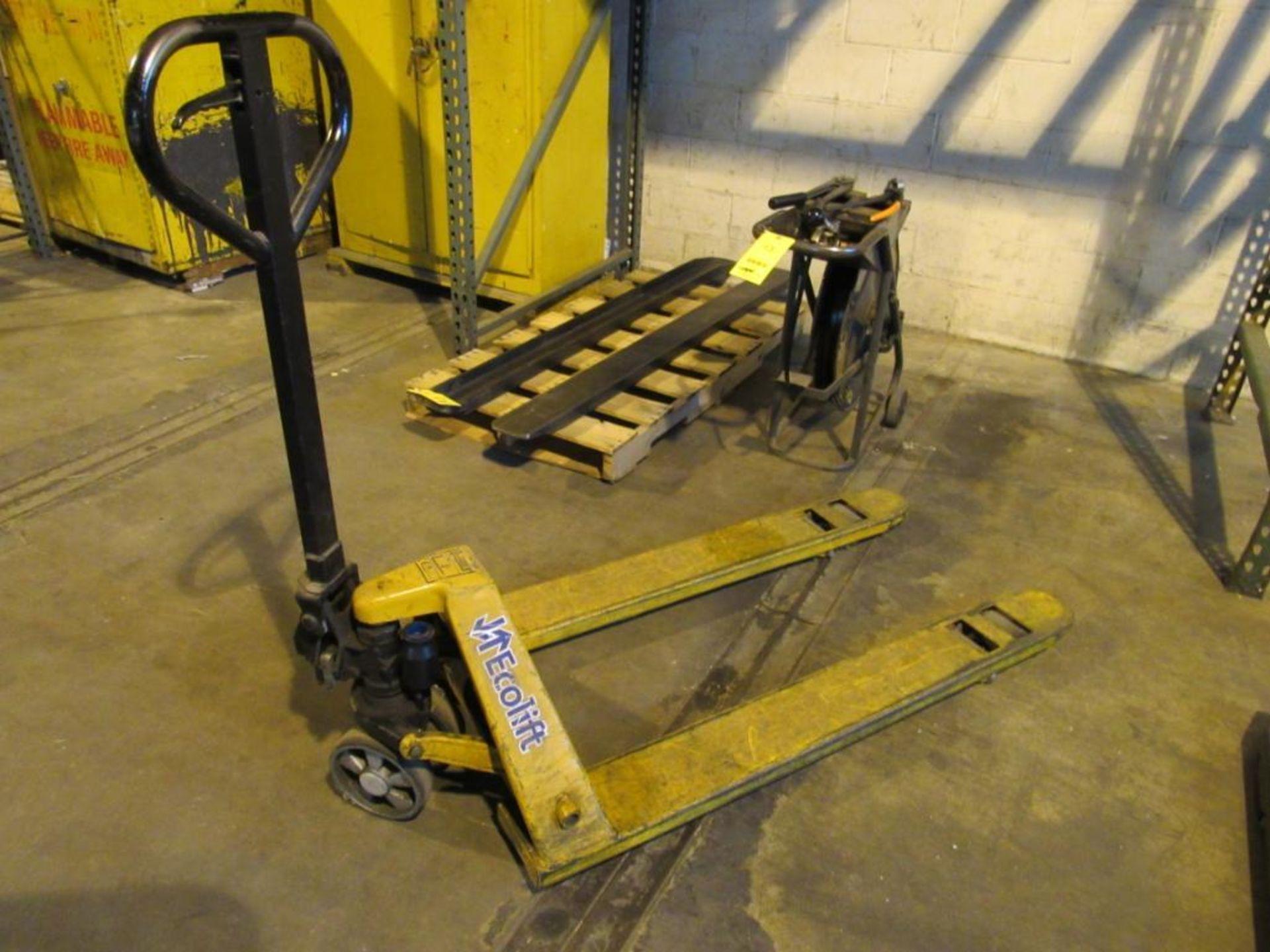 Ecolift Pallet Jack, 5500 lb. Cap.