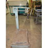 Mechano Model 54XL Floor Weight Scale, 100 lb. Cap.