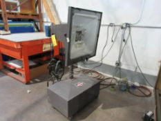 Nuarc Printing Lamp, Model 4000V, SLP 201 Control, S/N 232D81-2