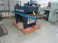 Lawson Omega Dryer, Belt 26 in. x 96 in. (est.), S/N D0074111224