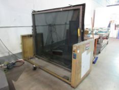 American Polycop Direct Contact Photo Screen Exposing Unit, 60 in. x 72 in., S/N JD-12878