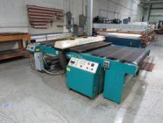1999 AWT World Trade Inc. Accu-Cure, Model UV Conveyor Approx. 52 in. x 112 in. Cap., S/N 69262-2