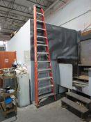 Husky 10 ft. Fiberglass Step Ladder