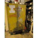 2-Door Flammable Storage Cabinet, 42 in. x 18 in. Deep x 64 in. High