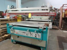 AWT All World Trade Accu-Print High Tech V, Model APV-4644, Semi Automatic Screen Printer, 64 in.