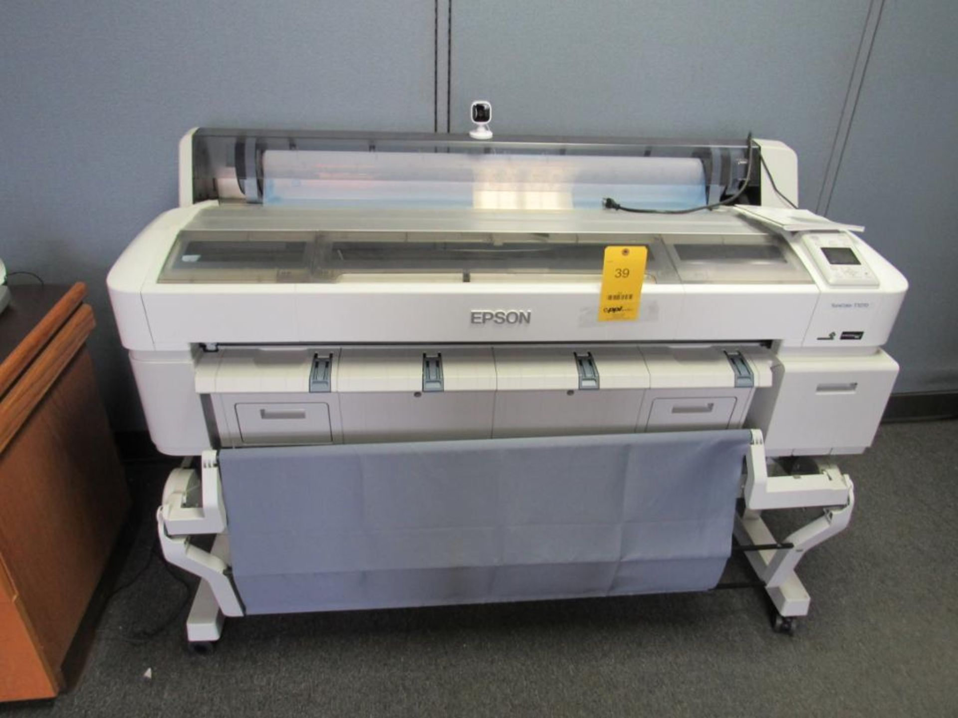 Epson Surecolor T7270 Wide Format Printer, 5-Color, 44 in. Wide, S/N U8CE001276