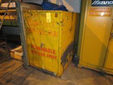 Just-Rite 18 Gal. Single Door Flammable Storage Cabinet, 34 in. x 50 in. Deep x 54 in. High