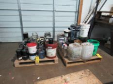 LOT: Assorted Used Ink, etc. on (2) Pallets