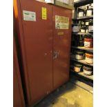 Eagle 60 Gal. 2-Door Flammable Storage Cabinet, 44 in. x 18 in. Deep x 65 in. High