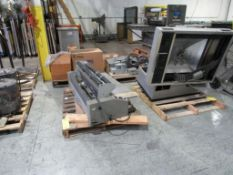 LOT: Assorted Printing Equipment and Electrical on (4) Pallets