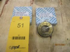 Set of GO/NOGO Thread Ring Gages, 1-1/4 in. - 12 UNF-2A (All inspection eq. is like New and Mostly