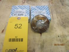 Set of GO/NOGO Thread Ring Gages, 1-3/8 in. - 16 UNJ-3A (All inspection eq. is like New and Mostly