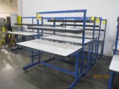 Production Basis EDS C-Leg Work Station, 30 in. x 60 in, 2-Shelf