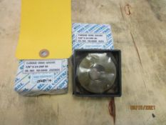 Set of GO/NOGO Thread Ring Gages, 7/8 in. -14 UNF-3A (All inspection eq. is like New and Mostly