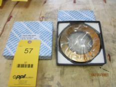 Set of GO/NOGO Thread Ring Gages, 3-1/2 in. - 12 UNJ-3A (All inspection eq. is like New and Mostly