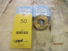 Set of GO/NOGO Thread Ring Gages, 1-1/8 in. -12 N3 (All inspection eq. is like New and Mostly