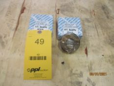 Set of GO/NOGO Thread Ring Gages, 1-1/8 in. -12 UNF-2A (All inspection eq. is like New and Mostly