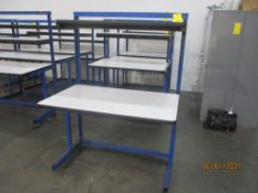 Production Basis EDS C-Leg Work Station, 30 in. x 48 in, 2-Shelf