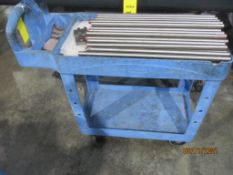 Rubbermade Plastic Rolling Cart (No Contents)