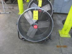 Shop-Air Drum Fan, 26 in.