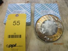 Set of GO/NOGO Thread Ring Gages, 2-3/8 in. - 16 UNJ-3A (All inspection eq. is like New and Mostly