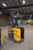 Jungheinrich 4000 lb. Stand Up, Flash Reach Electric Forklift Model ETR 340-36V, S/N 5JR3228911,