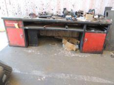 Steel Work Bench , LOCATION: 2435 S. 6th Ave., Phoenix, AZ 85003