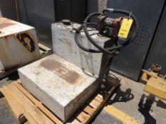 Fuel Tank, Approx. 60-Gallon w/ 12Volt Pump (Yard 2), LOCATION: 2435 S. 6th Ave., Phoenix, AZ 85003