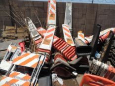 LOT: Misc. Smart Sign Safety Cones (Yard 3), LOCATION: 2435 S. 6th Ave., Phoenix, AZ 85003
