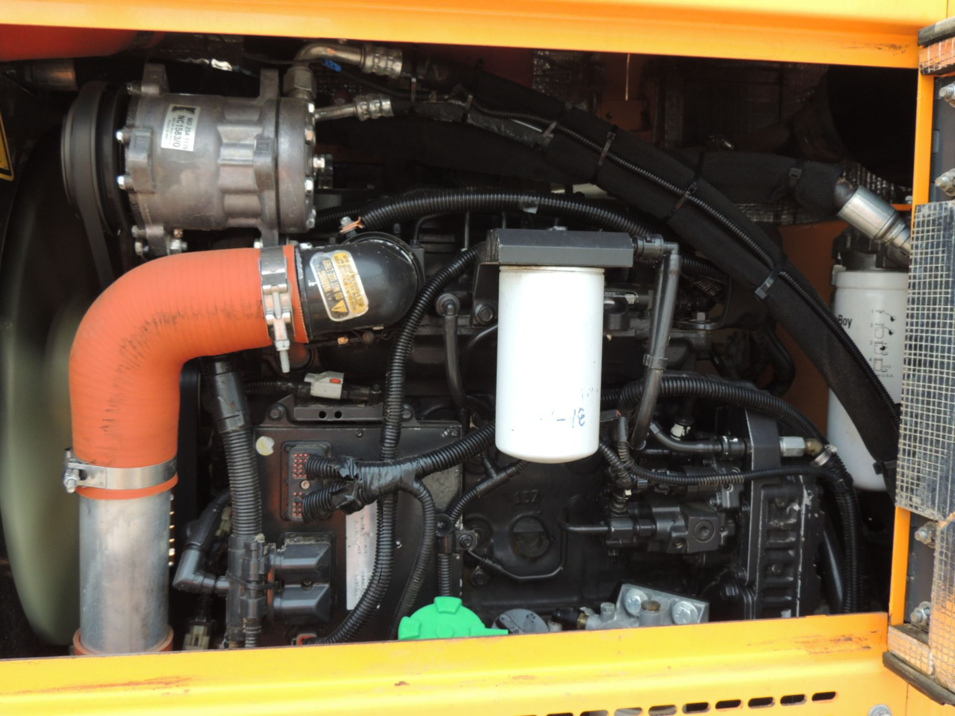 2015 Leeboy 685C Motor Grader, S/N 11909, Rear Ripper w/9-Shank Bar, Includes (5) Shanks, Front - Image 8 of 11
